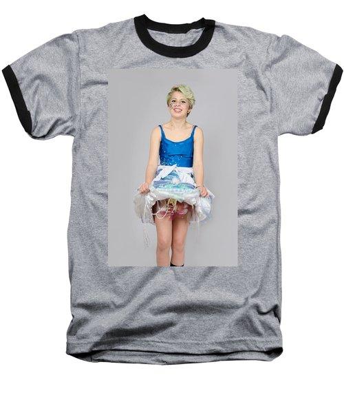 Taetyn In Jelly Fish Dress Baseball T-Shirt
