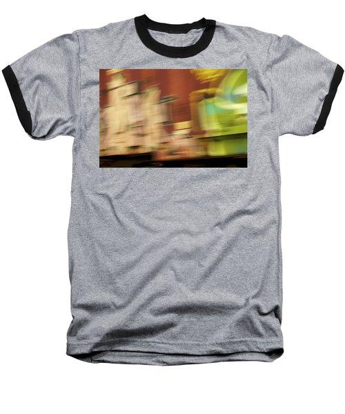 Tagged - Train Graffiti Baseball T-Shirt