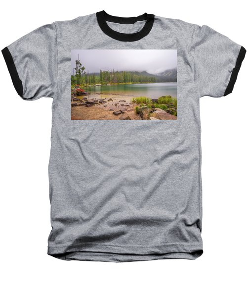 Taggert Lake Grand Teton Baseball T-Shirt