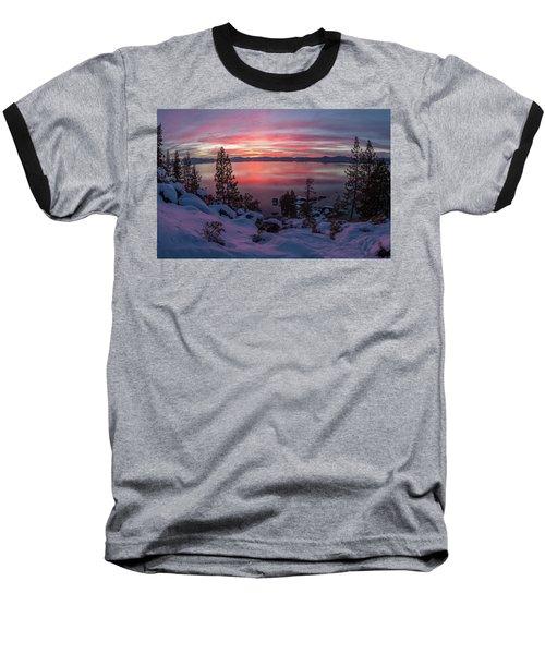 Tahhhhhoe Sunset Baseball T-Shirt