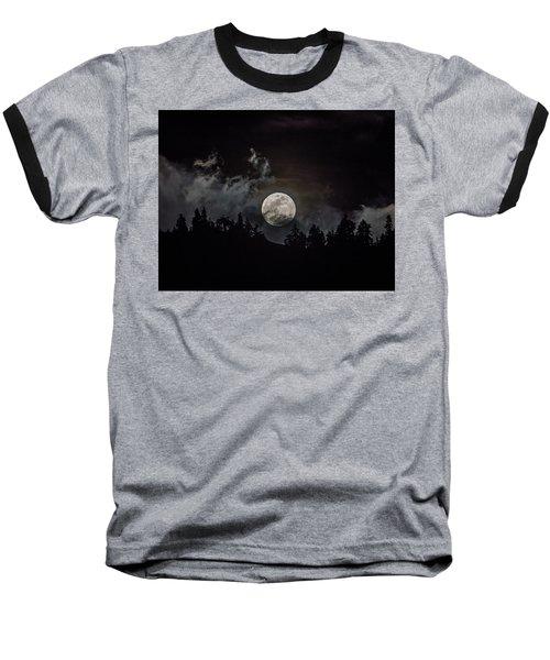 Tahoe Moon Cloud Baseball T-Shirt