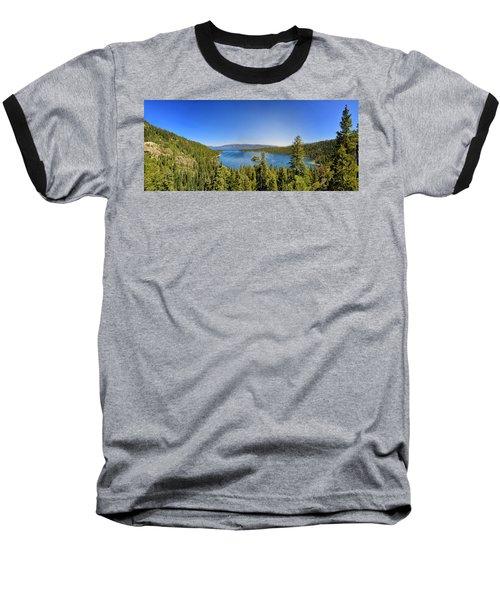 Tahoe Moutain View Baseball T-Shirt