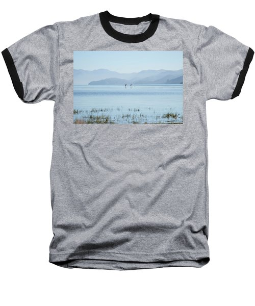 Tahoe Paddle Boarders Baseball T-Shirt