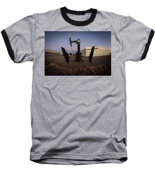 Baseball T-Shirt featuring the photograph Tailblade by Paul Job