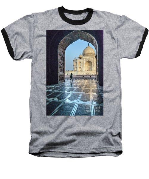 Taj Mahal 01 Baseball T-Shirt