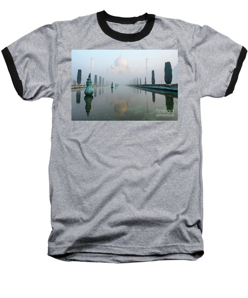 Taj Mahal At Sunrise 01 Baseball T-Shirt