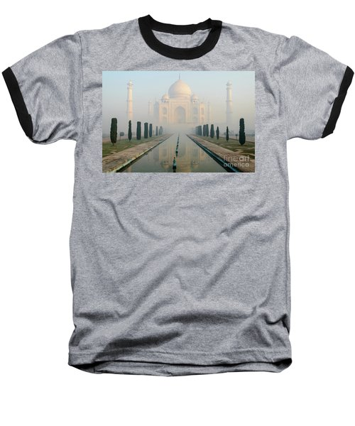 Taj Mahal At Sunrise 02 Baseball T-Shirt