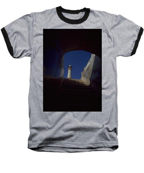 Taj Mahal Detail Baseball T-Shirt