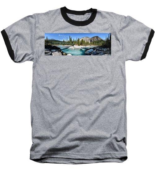 Takakkaw Falls Baseball T-Shirt