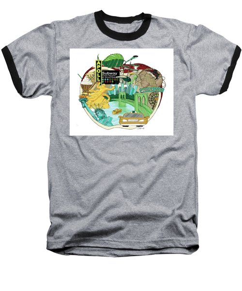 Take A Bite Baseball T-Shirt