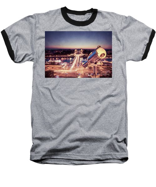 Baseball T-Shirt featuring the photograph Take A Look At Paris by Hannes Cmarits