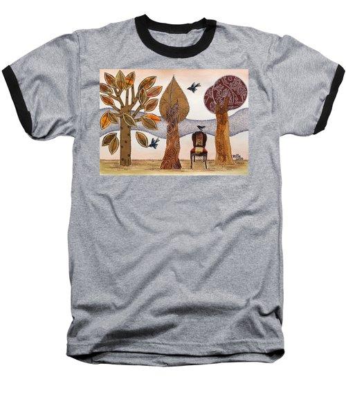 Take A Rest In Autumn Baseball T-Shirt