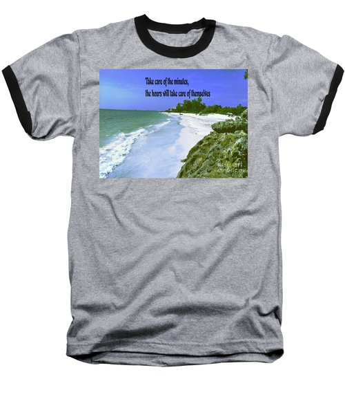 Baseball T-Shirt featuring the photograph Take Care Of The Minutes by Gary Wonning