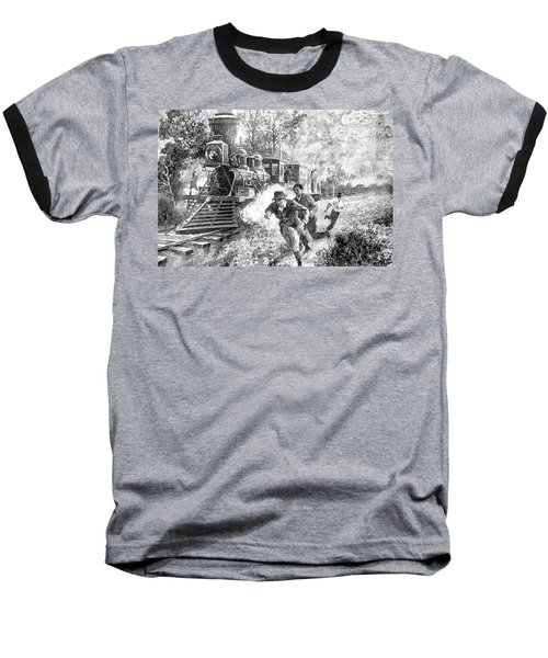 Take Cover Baseball T-Shirt