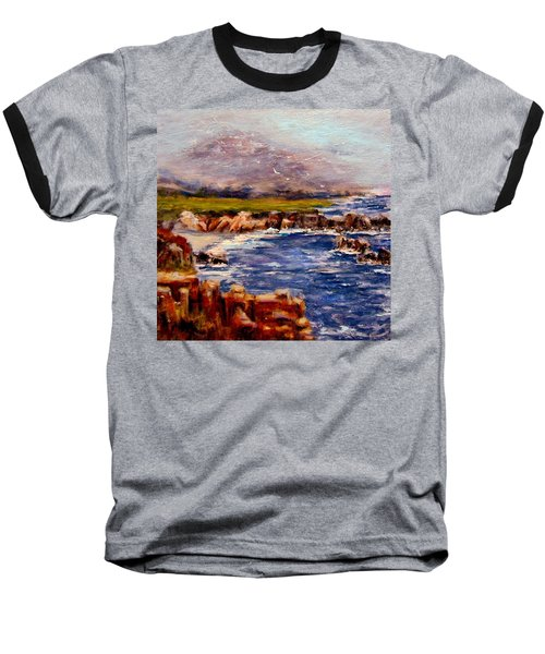 Take Me To The Ocean,, Baseball T-Shirt by Cristina Mihailescu