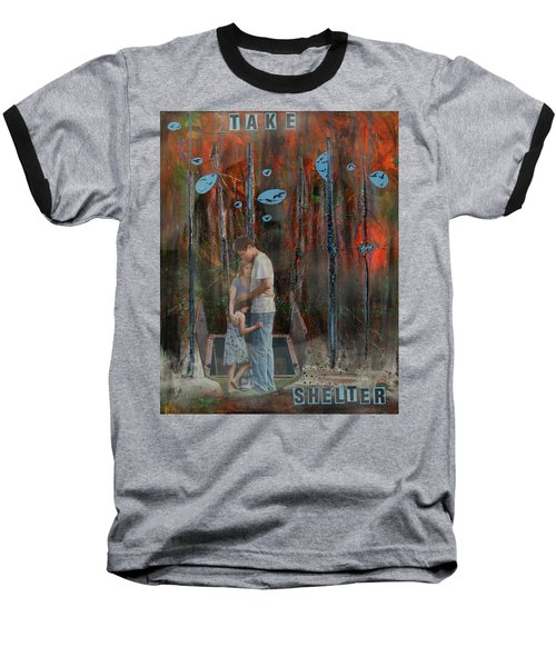 Take Shelter Baseball T-Shirt