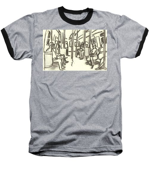 Take The A Train, Nyc Baseball T-Shirt