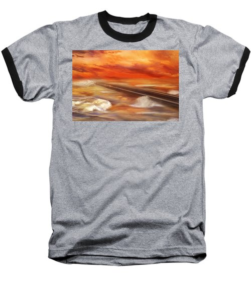 Take The Weather With You Baseball T-Shirt by Iryna Goodall