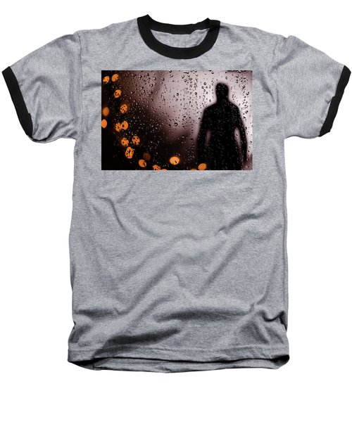 Take Your Light With You Baseball T-Shirt by David Sutton