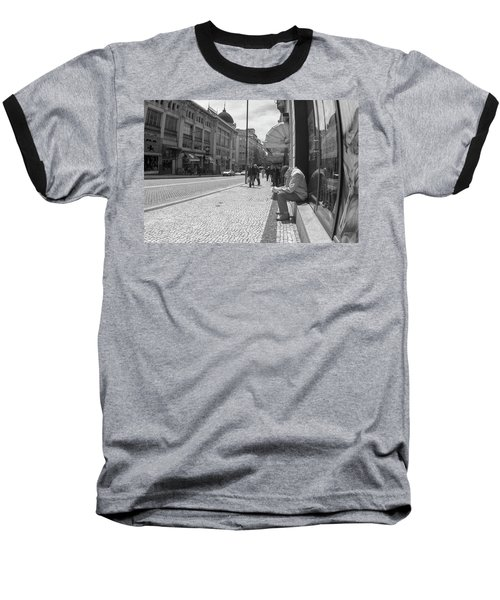 Taking A Nap Baseball T-Shirt