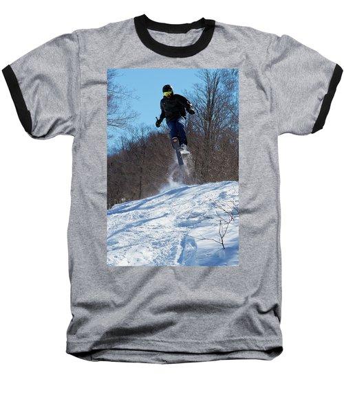 Baseball T-Shirt featuring the photograph Taking Air On Mccauley Mountain by David Patterson