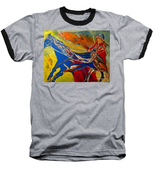 Taking The Reins Baseball T-Shirt