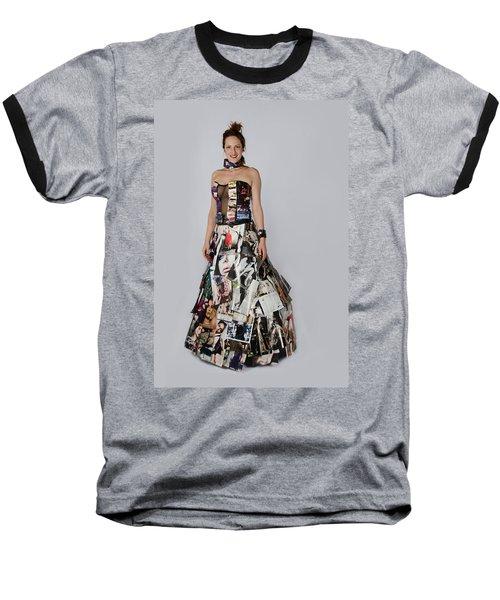 Megan In Gown Baseball T-Shirt