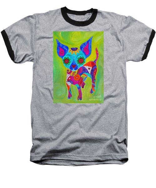 Talavera Chihuahua Baseball T-Shirt