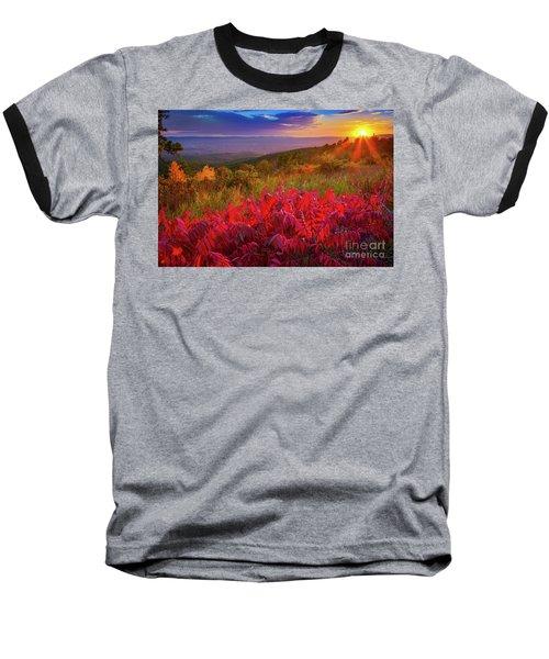 Talimena Evening Baseball T-Shirt
