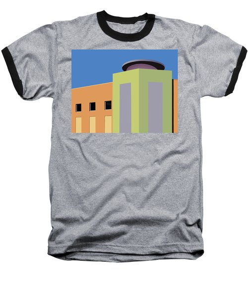 Talin Market Baseball T-Shirt by Nikolyn McDonald