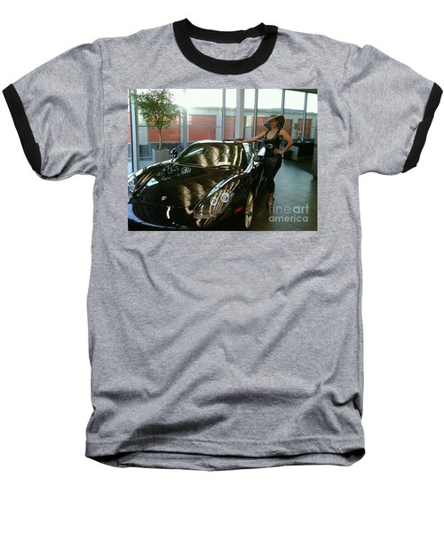 Talisa Hartleys Sports Cars And Big Muscles Baseball T-Shirt