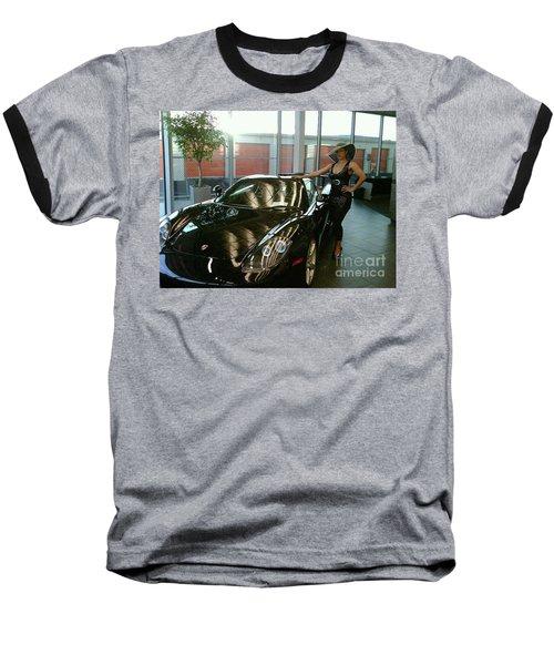 Talisa Hartleys Sports Cars And Big Muscles Baseball T-Shirt