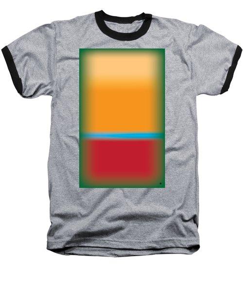 Tall Abstract Color Baseball T-Shirt