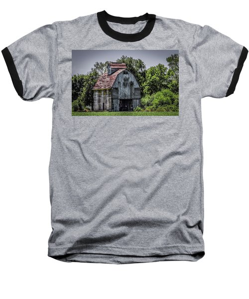 Baseball T-Shirt featuring the photograph Tall Barn by Ray Congrove
