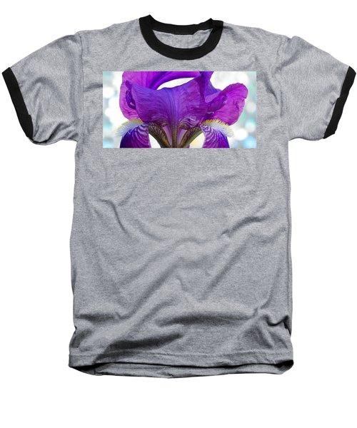 Tall, Bearded And Handsome - Iris Baseball T-Shirt