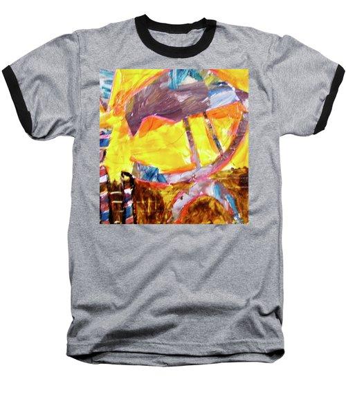 Tall Bird  Baseball T-Shirt