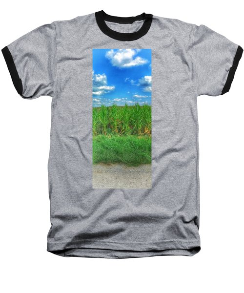 Baseball T-Shirt featuring the photograph Tall Corn by Jame Hayes