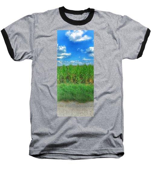 Tall Corn Baseball T-Shirt
