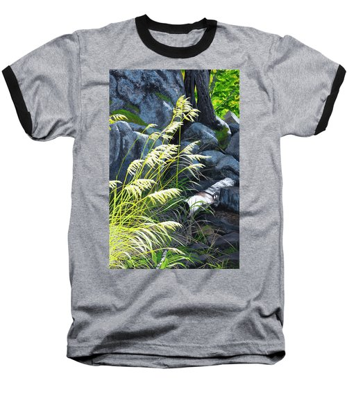 Tall Grass In A Breeze Baseball T-Shirt