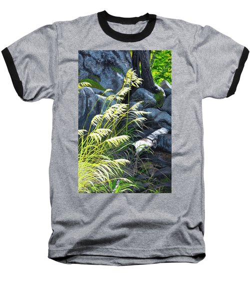 Tall Grass In A Breeze Baseball T-Shirt