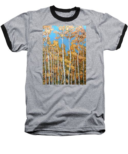 Tall Poplars Baseball T-Shirt