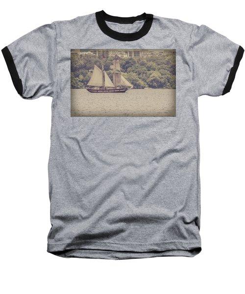 Tall Ship - 2 Baseball T-Shirt