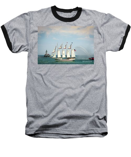 Tall Ship Baseball T-Shirt
