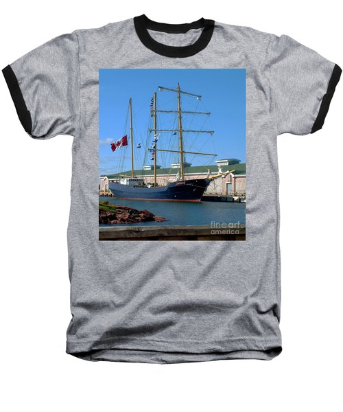 Baseball T-Shirt featuring the photograph Tall Ship Waiting by RC DeWinter