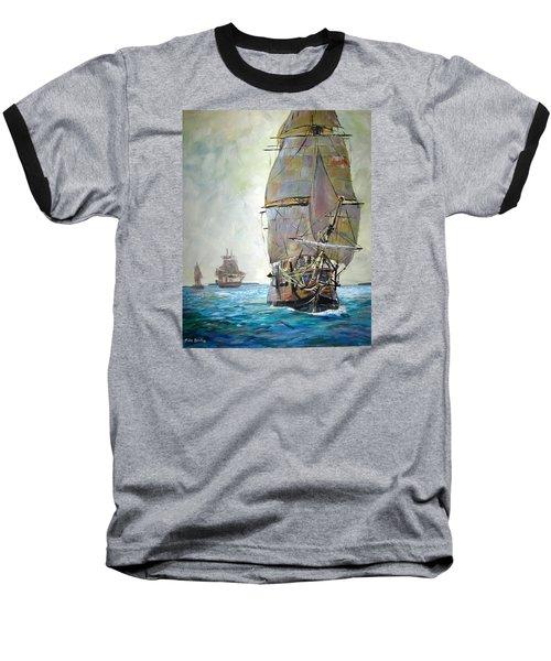 Tall Ships 2 Baseball T-Shirt