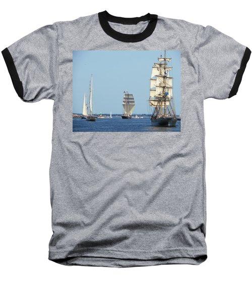 Tallships At Aarhus Baseball T-Shirt