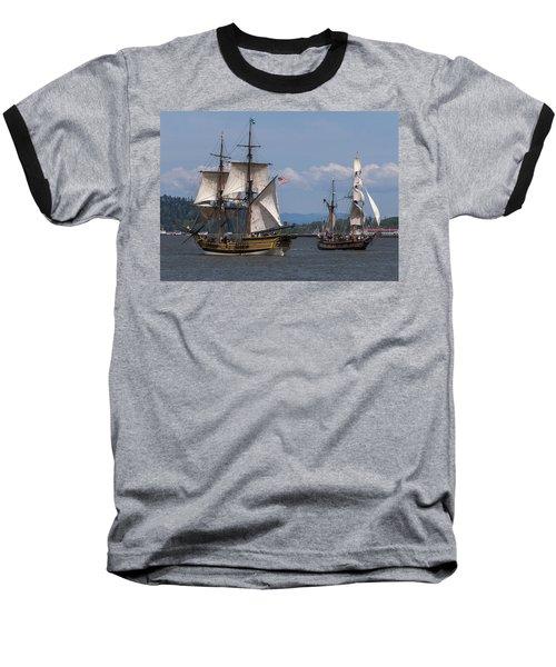 Tall Ships Square Off Baseball T-Shirt