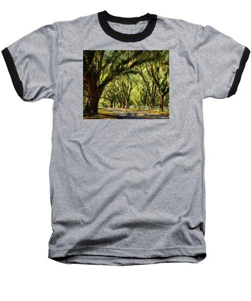 Tallahassee Canopy Road Baseball T-Shirt