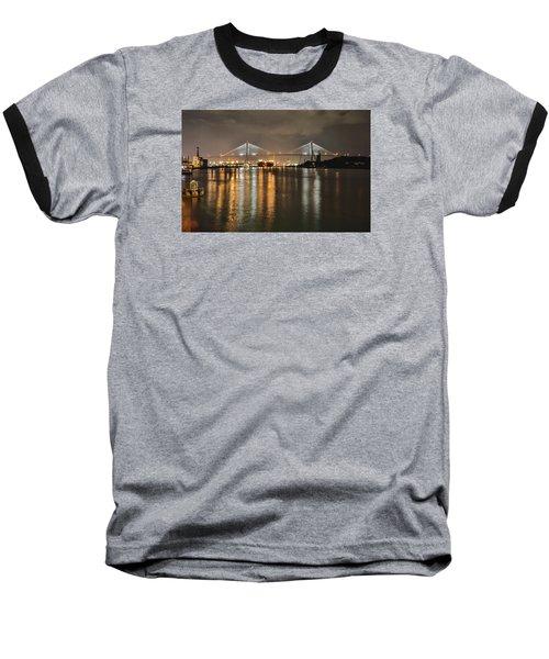 Talmadge Memorial Bridge Baseball T-Shirt