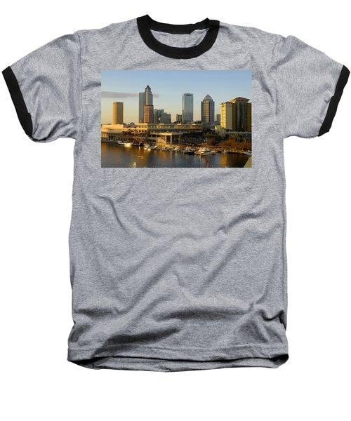 Tampa Bay And Gasparilla Baseball T-Shirt by David Lee Thompson